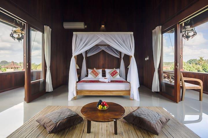 Loka pala*Suite Wooden Wanasari Villa - Ubud - Townhouse