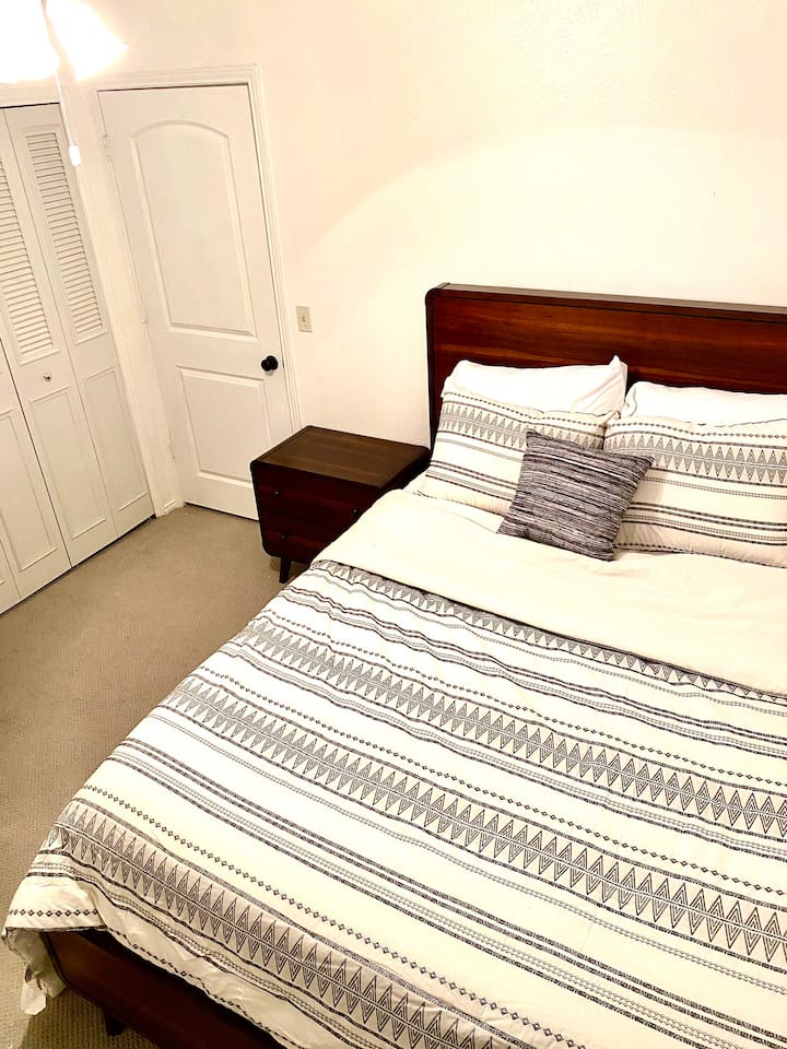 Guest Bedroom in spacious Richardson home