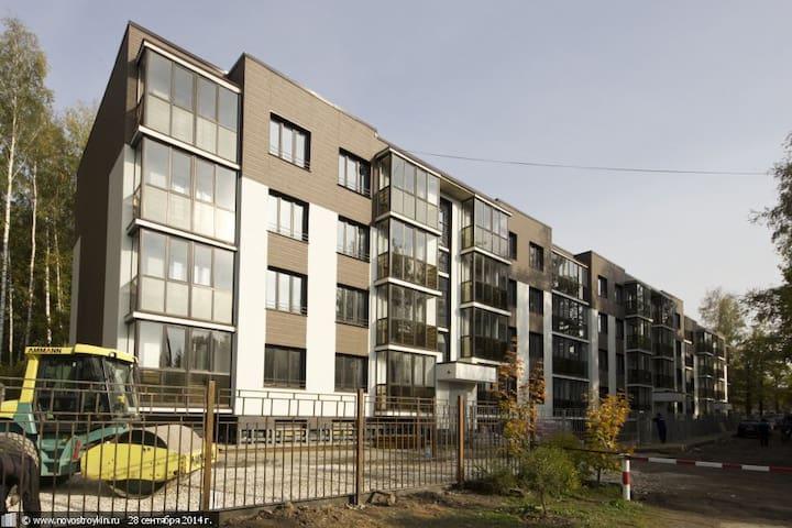 1-комнатная квартира рядом с лесом - Perkhushkovo - Apartamento