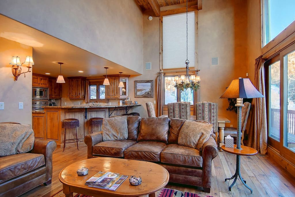 A Beautiful, Comfortable and Warm Living Area