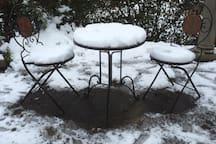 Snow at 'Tara'