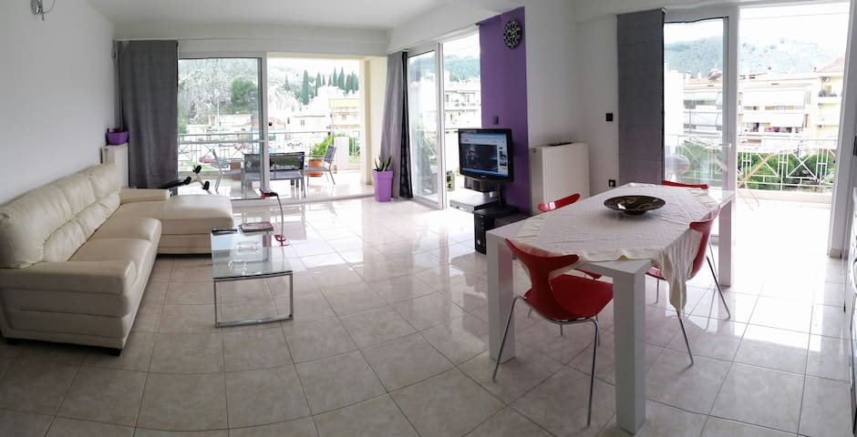 LUXURY APARTMENT WITH AMAZING VIEW - Nafplio - Appartement