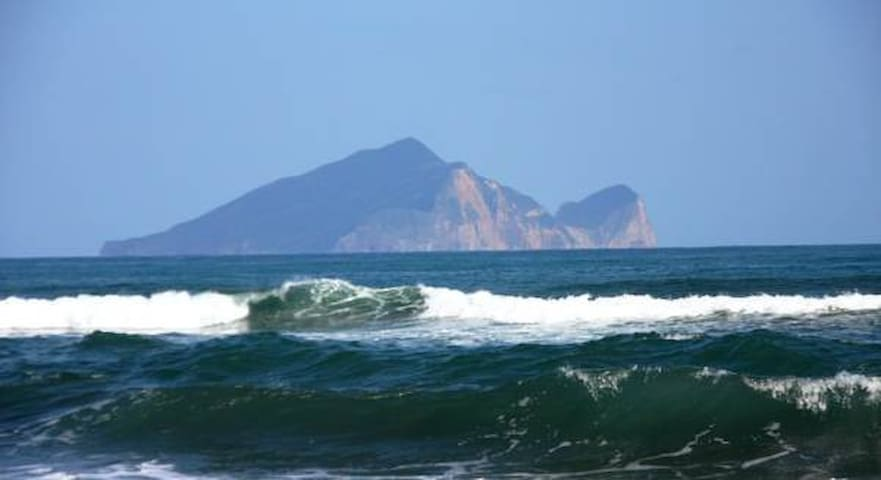 透過您的目光可以看到碧海青天,龜山島就在眼前。 - TW宜蘭縣 - Huis