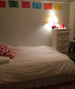 Large Quiet Bedroom In Railroad Apt - San Francisco - Appartamento