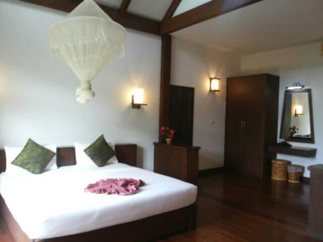 Phitharom PP Resort - Tambon Ao Nang - Domek parterowy