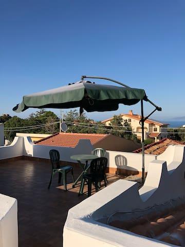 Appartamento con terrazzo solarium