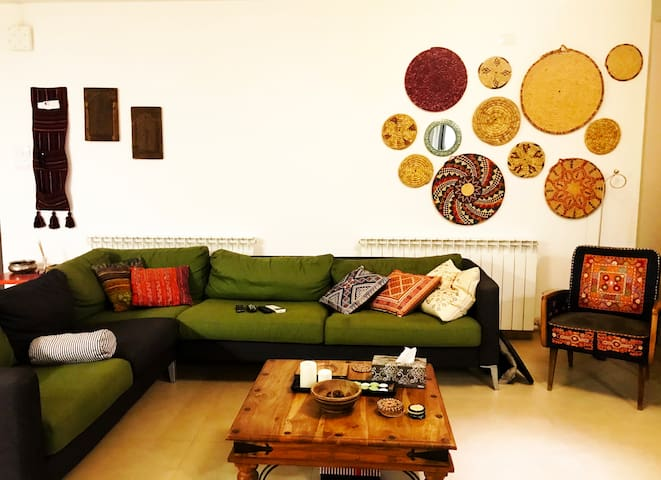 Central home in the most lively area of Ramallah