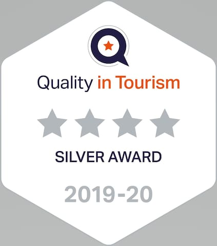 Quality in Tourism 4 Star Silver Award
