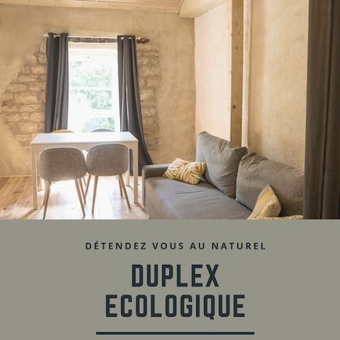 ★ DUPLEX ECOLOGIQUE ★ PARKING ★ CALME