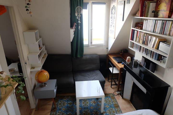 Charmant appartement 1 pièce - Cosy 1 bedroom flat
