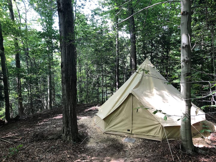 Woodland Glamping Tent in Wine Country