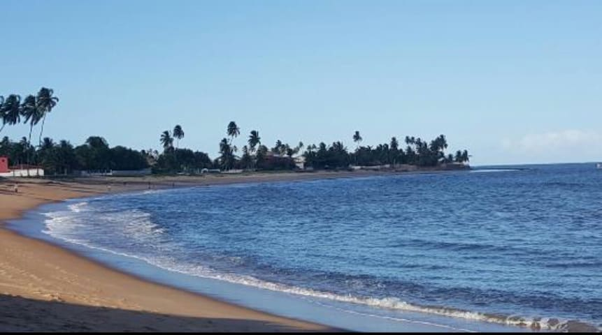 Descanso no paraíso com a família! - Barra de Santo Antônio  - Casa