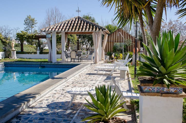 Gorgeous chalet w/ swimming pool - Montemayor