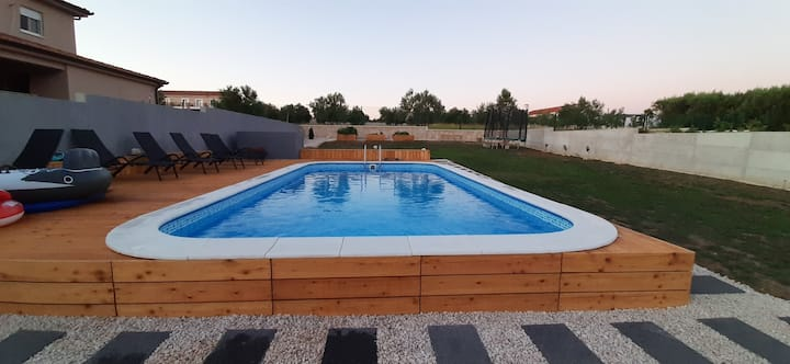 4* Holiday House HAPPY PLACE, 6+2, Zadar county