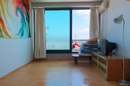 송지호,삼포 해변 바닷가 앞 착한가격 민박입니다.