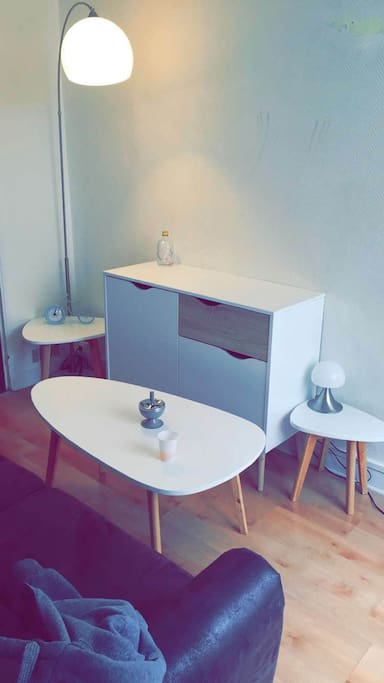 Petit salon cosy