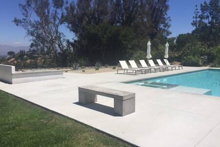 Mid Century Estate Upgraded, City Views, Pool,Spa - 恩西诺(Encino) - 独立屋