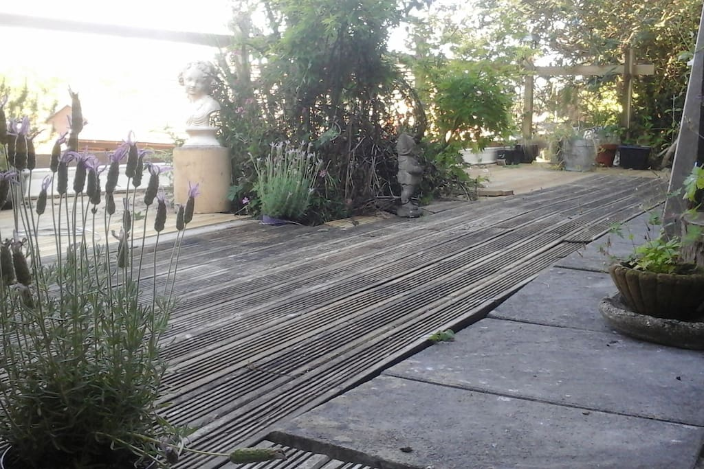 Front decking for you to sit and take in the view