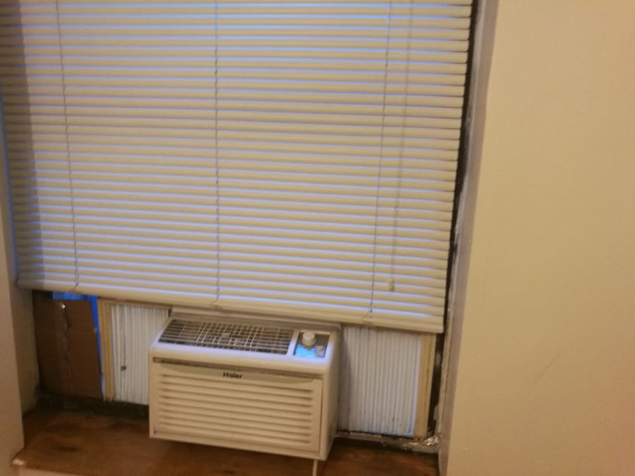 The air-conditioner in my room