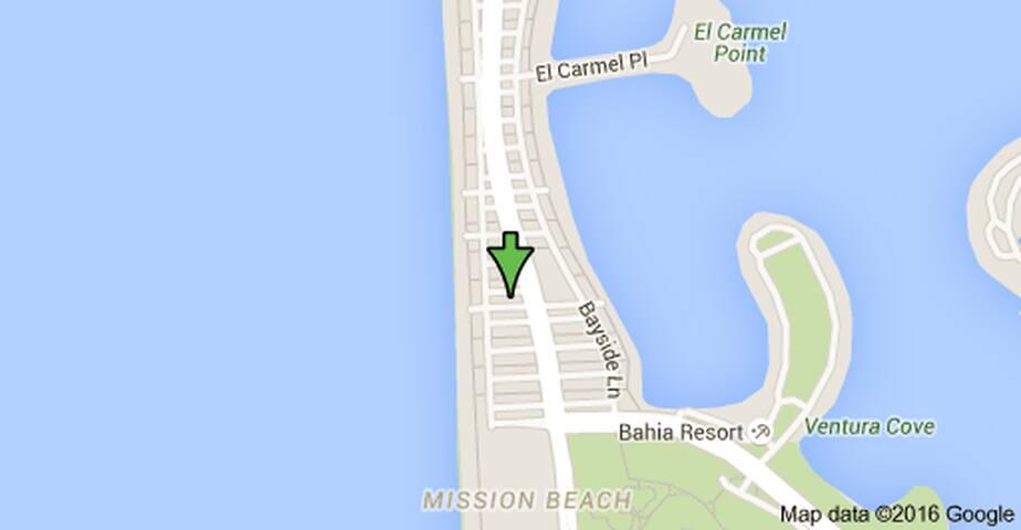 Steps away from Mission Beach - San Diego - Apartamento