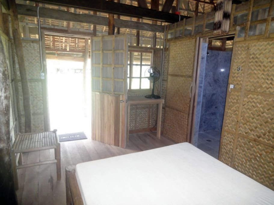 Enjoy a one-bedroom with private bathroom