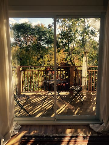 App. 4 1/2 (60 m2) avec 2 terrasses & 1 chat - Montreal - Apartamento