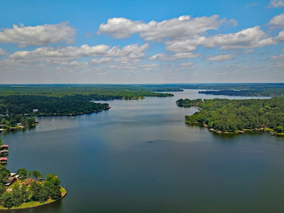 Located less 7/10th's (walk or drive) lies a gem of a spring fed lake. Bring a boat, there's a community boat launch.