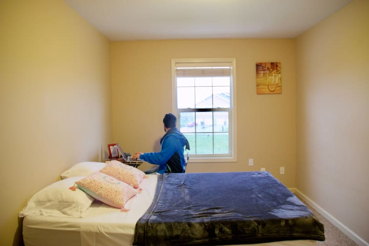 Quite, Safe and Clean room in Champaign - Birds