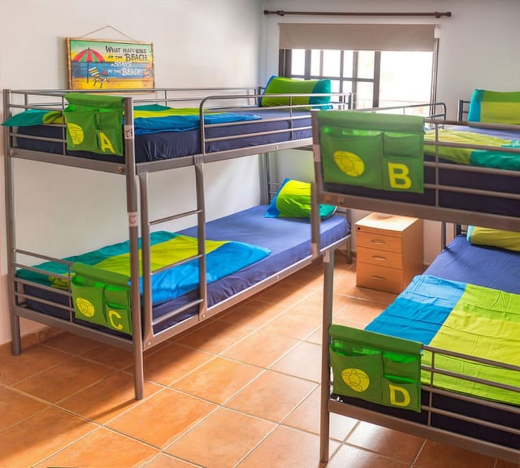 4-bed Shared Mixed Dormitory