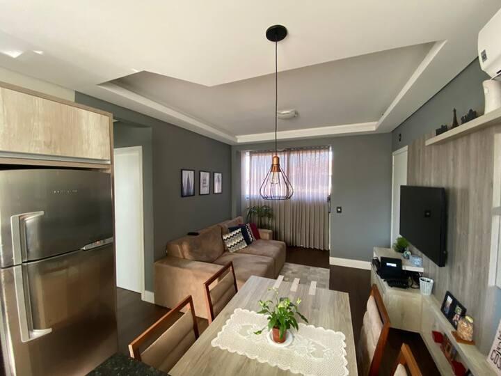 Apartamento Completo e charmoso, ótima localização
