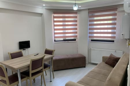 Bright and central flat for families near Taksim