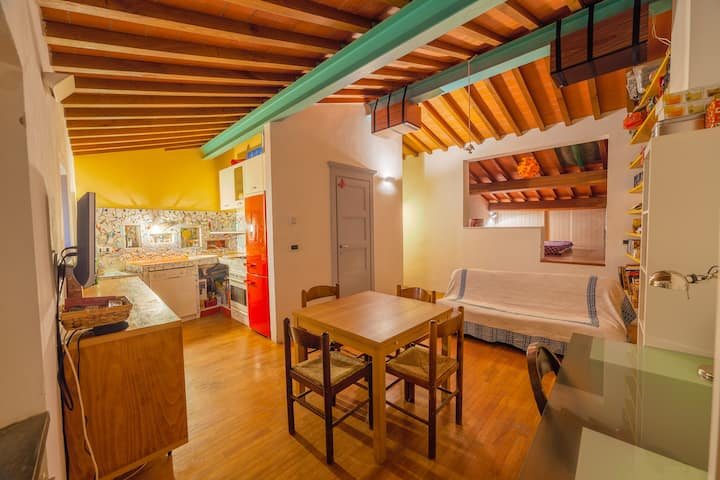 Loft in a village of Tuscany close to the castle