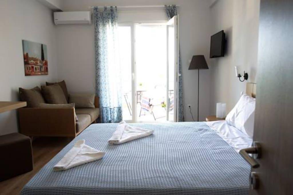 Καλαίσθητα δωμάτια, πλήρως ανακαινισμένα