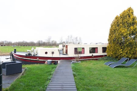 Houseboat Vinkeveen The Rose