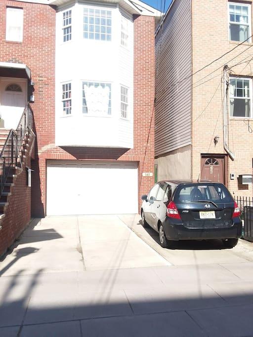 Free Parking Next to the Black Honda