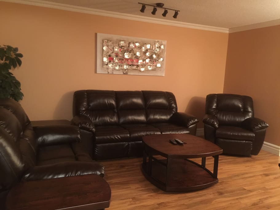 Comfortable living room equipped with 43