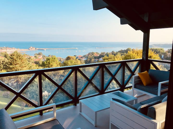 Magnifique appartement vue mer à Ciboure