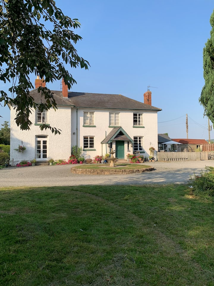 Secluded riverside location , Herefordshire