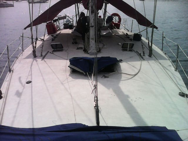 Sail boat living - Island life. - Cayos Chichime - Bed & Breakfast