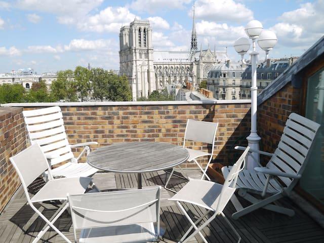 Notre Dame - Galande - Parijs - Appartement