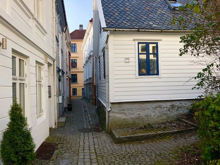3min to main square-private balcony #Room Nordnes