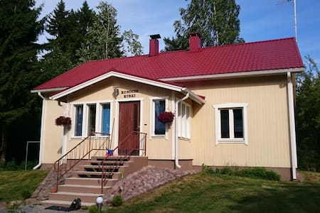 Kommee Kurki, a vacation house in the countryside