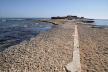 Discovering Val di Noto: the beach of Isola delle Correnti in the southermost part of Sicily