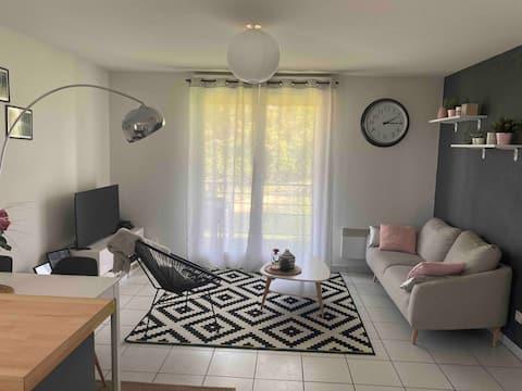 Appartement T2 dans résidence calme et sécurisée