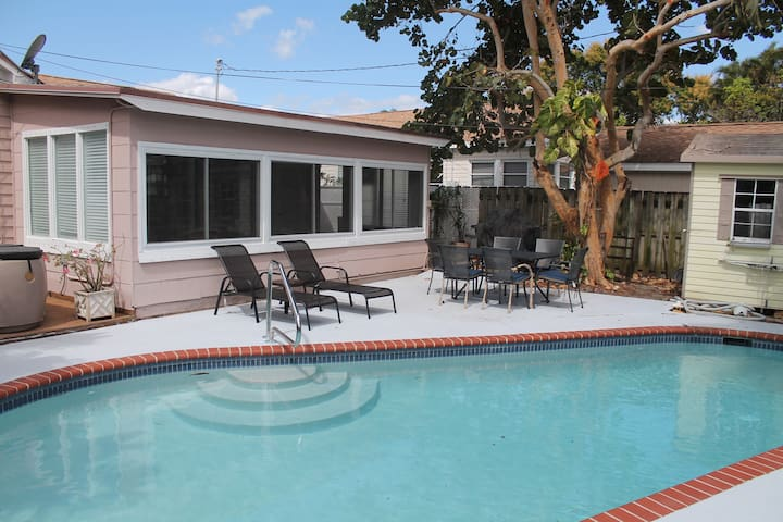 Key West style Cottage restored with Pool - Lake Worth - Huis