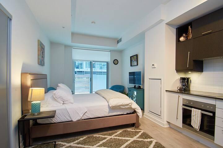 Downtown Toronto Stylish Studio! - Steps2everythng