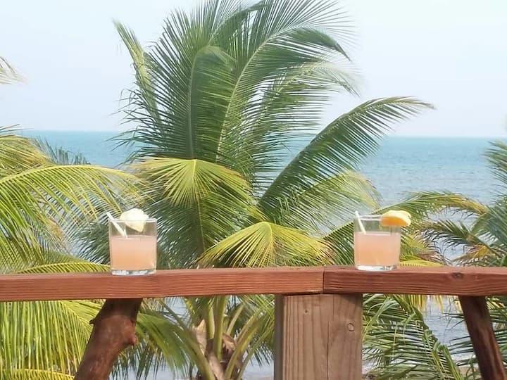 The Jungle meets the Caribbean Beach.
