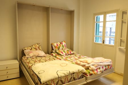 Charming double BedRoom  with a big balcony - Beirut - Flat
