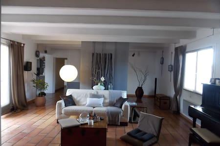 Maison 4 couchages, grande pièce de vie et jardin. - Saint-Xandre - Casa