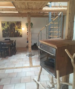 Dalhøjgaard - private room on idyllic farm - Stege - Rumah